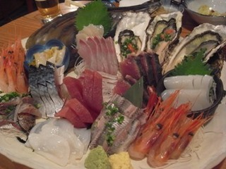 tarafuku uokin sashimi