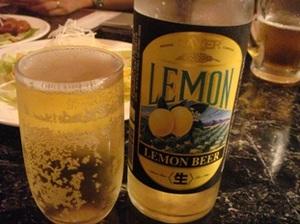 lemon beer