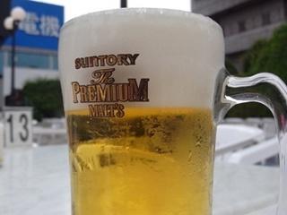 beer garden osaka